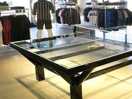 ping pong table cost glass ping pong table top cost holhy com