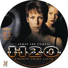 halloween h2o twenty years later dvd label 1998 r1 custom