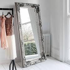 Mirror For Bedroom Carved Floor Standing Mirror Floor Standing Mirror Ornate