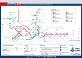 Istanbul Metro Map Istanbul Railway Accessibility Map U2013 Wheelchair Accessible Minivan