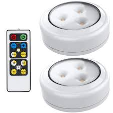 battery operated led lights for kitchen cabinets brilliant evolution led puck light 2 pack with remote wireless led cabinet lighting counter lights for kitchen battery operated