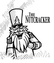 barbie nutcracker coloring pages nutcracker outline with