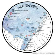 Jersey Shore Map Dig Your Wheels Into South Jersey With This Biking Guide Biking