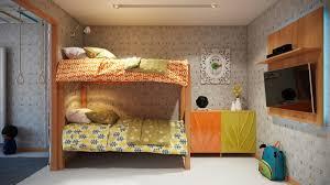 bedroom space saving kids furniture whimsical bunk bed