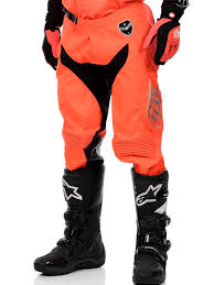 troy lee motocross gear troy lee designs fluorescent orange black 2016 se starburst mx