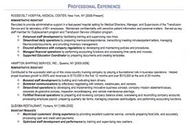 Executive Administrative Assistant Resume Examples by Administrative Assistant Resume Sample Sample Administrative