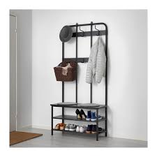 cabinet for shoes and coats pinnig coat rack with shoe storage bench ikea