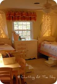 Diy Canopy Bed With Lights Amazing Canopies With String Lights Ideas