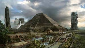 imagenes mayas hd digital art fantasy art maya civilization pyramid tower palm