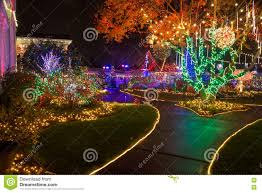 christmas lights outdoor editorial photography image 81818367