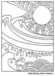 summer colouring pages print funycoloring