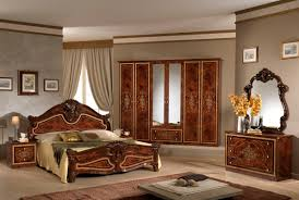 King Size Bed Bench Bedroom Italian Bedroom Furniture With Padded Bed Frame And