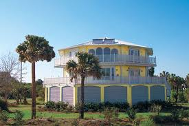 our two story luxury stilt home design built oceanfront with