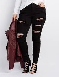 Plus Size Ripped Leggings 220 Best Plus Size Fashion Images On Pinterest Plus Size Fashion