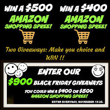 amazon black friday giveaway giveaway
