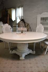 French Marble Dining Table Painted Cottage Dining Table
