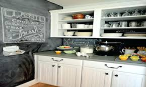 Kitchen Backsplash Trends Chalkboard Paint Kitchen Backsplash With Painting Backsplashes