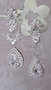 vintage wedding earrings chandeliers stunning chandelier earrings swarovski rhinestone