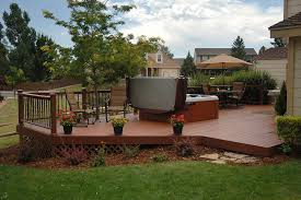 Wood Patio Deck Designs Backyard Deck Designs Rolitz