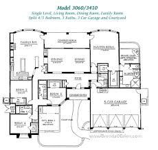 4 bedroom house blueprints single story 5 bedroom house plans trend 3 one story 3 bedroom 2
