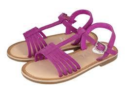 girls u0027 pink leather sandals tazia tienda oficial gioseppo elsa