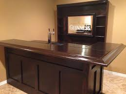 marvelous idea diy basement bar plans free diy home 8 easy steps