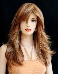 long hair with layers and bangs best haircut style