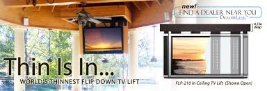 Swivel Ceiling Tv Mount by Lift It Flip Down Ceiling Tv Lifts For Lcd And Plasma Televisions