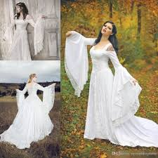 Discount Game Of Thrones Vintage Medieval Wedding Dresses 2017