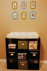 Changing Table Organizer Ideas Changing Table With Storage Robys Co