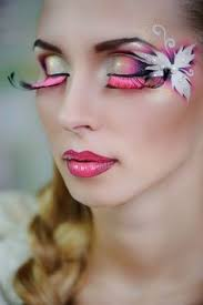 false eyelashes are trending for halloween at bella beauty college