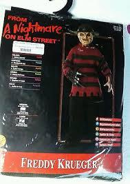 Kids Freddy Krueger Halloween Costume Halloween Child 12 14 Freddy Krueger Sweater Fedora Nightmare
