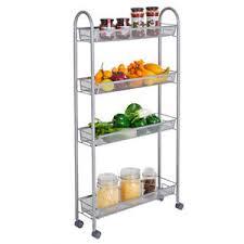 kitchen storage cupboard on wheels details about 4 tier gap kitchen slim slide out storage tower rack cupboard with wheels