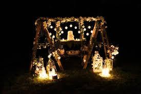 Outdoor Lighting Party Ideas - kara u0027s party ideas elegant white outdoor dinner party kara u0027s