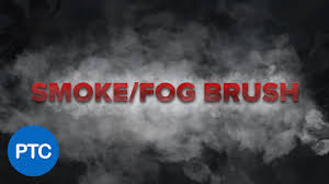 how to create a smoke fog brush in photoshop