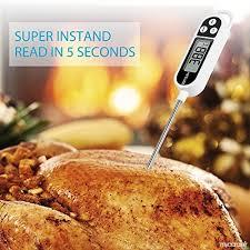 sonde de cuisine de cuisine thermomètre de cuisson digital numérique avec sonde
