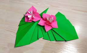 origami leaf for decor easy way to decorate your room ideas for