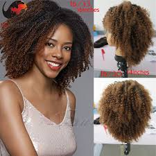 Sundara Hair Extensions by Hottest Short Afro Curly Full Lace Wig American Africa Afro Curly