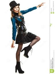 cool in steampunk style stock photo image 60459703