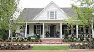one story house plans with porches plan sl 1122 southern living house plans french country southern
