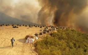 Wildfire Cartoon Youtube by Hill Fire Burns About 1 200 Acres 40 Percent Contained The Tribune