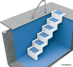 pool treppe pool treppe statt leiter elegante lösung zum nachrüsten oder für
