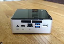 Wohnzimmer Pc 2015 Intel Nuc Mit Broadwell Im Test Mini Pc Mit Viel Herz