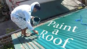 how to paint a roof in the philippines lambang by ordub youtube