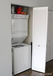 Laundry Closet Door Laundry Closet Makeover Gameplan Design Diy Playbook
