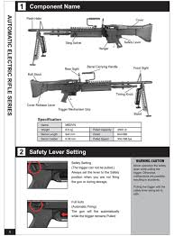 free download manual for a u0026k m60 vn airsoft aeg instruction