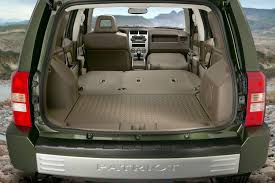 2014 jeep grand cargo dimensions 2008 jeep patriot overview cars com