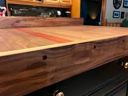 kitchen countertop made in the style of cutting board 36