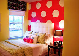 remarkable bright bedroom color ideas with iron bed frame and head