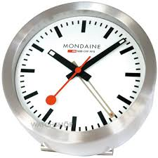 mondaine mini desk clock a997 mcal 16sbb watch shop com